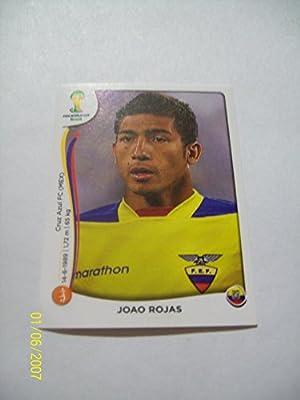 2014 Panini World Cup Soccer Sticker # 368 Joao Rojas; Team Ecuador.