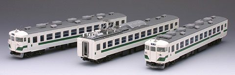 TOMIX HOゲージ HO-056 国鉄455系電車 (東北色) セット