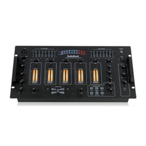 Radioshack 4-Channel Mixer With Usb And Sound Effects front-77201