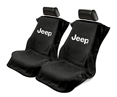 Buy Seat Armour Black Towel Seat Covers For Jeep Pair