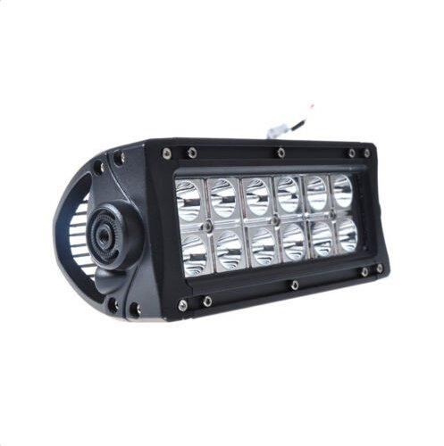 Suparee 2Pcs 36W 2520Lm 7 Inches Epsitar Led Work Light Bar Spot Beam Offroad Truck Suv Atv