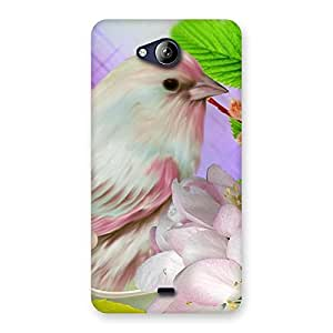 Spring Bird Back Case Cover for Canvas Play Q355