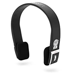 GOgroove AirBand Wireless Bluetooth Stereo Headset with Microphone for Motorola Samsung LG Apple HTC & More A2DP Enabled Smartphones