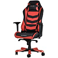 DX Racer Iron Gaming Chair - Red and Black Stripe - OH/IS166/NR
