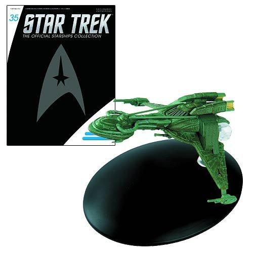 Star Trek Starships Early Klingon Bird of Prey Vehicle with Collector Magazine #35