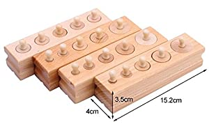 Montessori 4 mini cylinder blocks
