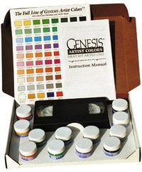 Genesis Heat Set Oil Paint : Set Basic Palette : With out Gun : Set contains ...