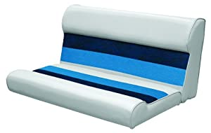 Wise 36 Inch Pontoon Bench Seat Cushion Base Required To Complete Gray Navy Blue