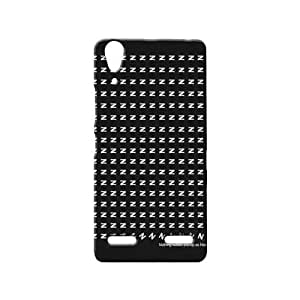 BLUEDIO Designer 3D Printed Back case cover for Lenovo A6000 / A6000 + - G7469