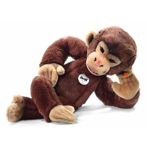 Steiff 064685 - Jocko Lo Chimpanzee Peluche, 70 cm