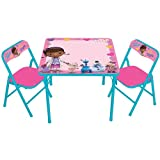 Disney Doc McStuffins Erasable Activity Table and Chair Set