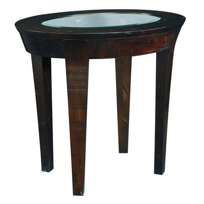 Cheap Hammary Urban Flair Oval End Table in Umber (T20066-T2006636-00)