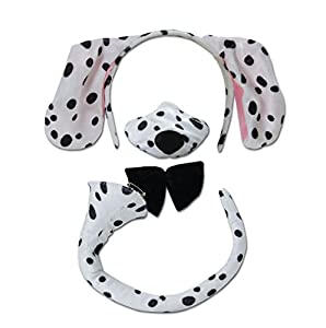 Dalmatian Ears Dalmation ears nose and tail