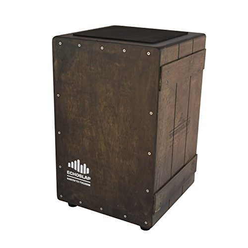 Echoslap Vintage Crate Cajon Vintage Dark Hand Crafted