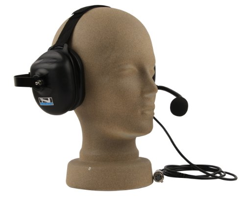 Anchor Audio, Helmet Compatible Dual Muff Headset With Mic For Portacom/Prolink, H-3000
