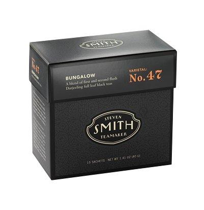 Steven Smith Teamaker - Full Leaf Black Tea Bungalow No. 47 - 15 Tea Bags