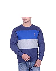 United Rugby Polo Men'S Sweatshirt (Urp1024Indm_Multicolor_X-Large)