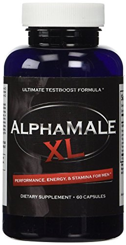 AlphaMaleXL - The #1 Most Potent & Powerful Male Enhancement Available! All Natural & Clinically Proven Ingredients Guaranteed to Work Or Your Money Back! 1 Bottle Supply
