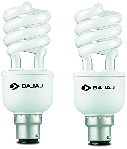 Bajaj Retrofit Ecolux Spiral 32 Watt CFL Bulb (Cool Day Light,Pack of 2 ) Image