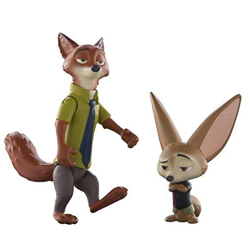 Disney Zootropolis Movie – Character Packs – Nick Wilde & Finnick by Disneys Zootropolis