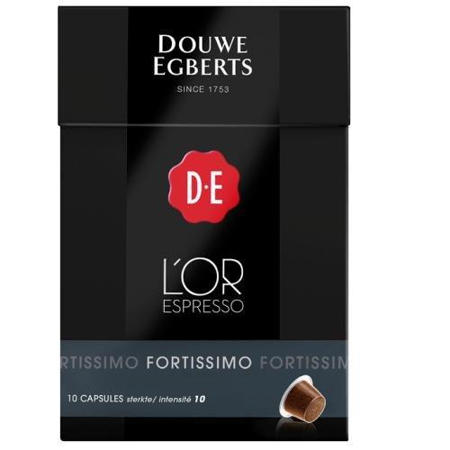 Douwe Egberts L'Or Espresso Fortissimo - Nespresso Compatible