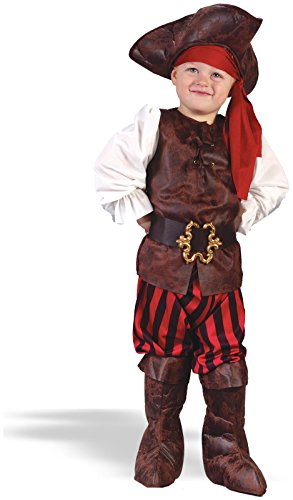 Fun World - Boy High Seas Buccaneer Toddler Costume
