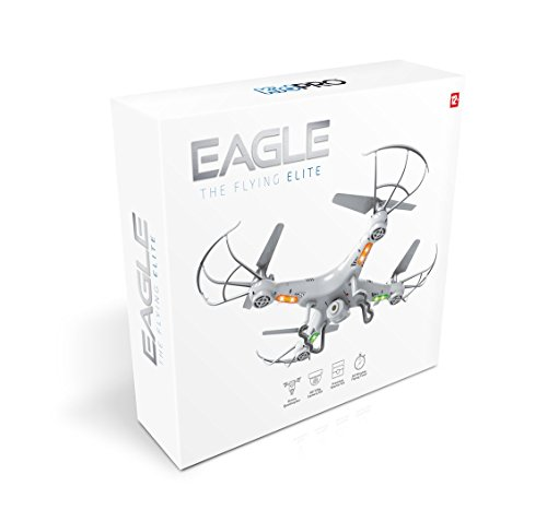BEST RC Quadcopter Drone SUPER STARTER SET+5 FREE Bonuses - 4 x Flight Time, 2.4GHz Remote LED Screen, Full HD 720p Camera, 360 Degrees Flip & Roll, 50M Range - Everything You Need For Flying & More!