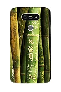 Omnam Bamboo Tree Printed Designer Back Cover Case For LG G5