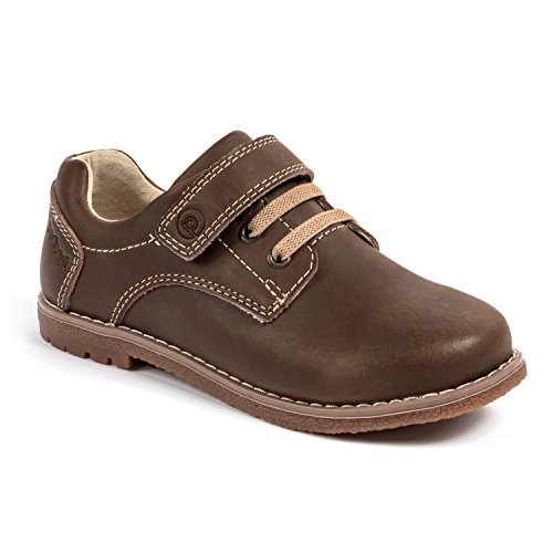 pediped Flex Storm Athletic Sneaker , Chocolate Brown, 25 EU