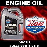 Lucas Engine Oil 5W30 5L Fully Synthetic Suzuki WAGON R Petrol 98->08