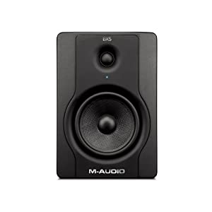M-Audio BX5 D2 Compact 2 Way Active Studio Monitor Speakers (for Music Production and Mixing, 5 inch), Pair