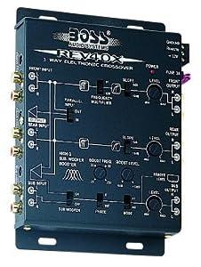 boss rev40x 2 3 wege aktiv frequenzweiche. Black Bedroom Furniture Sets. Home Design Ideas