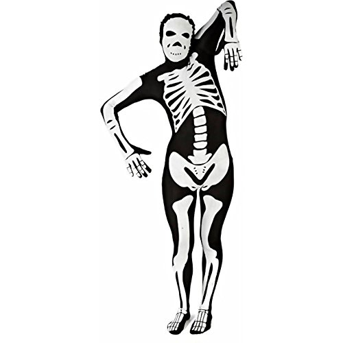 Morphsuits Men's Skeleton Black Adult