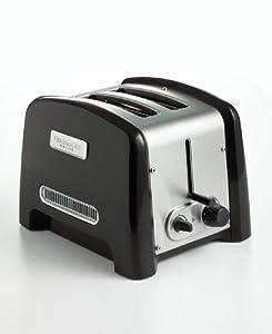 KitchenAid KPTT780OB 2-Slot, 2-Slice Toaster, Onyx Black