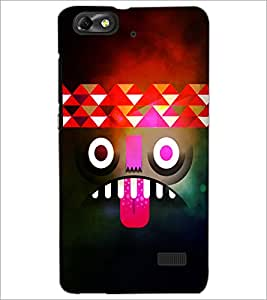 PrintDhaba Cartoon D-4389 Back Case Cover for HUAWEI HONOR 4C (Multi-Coloured)