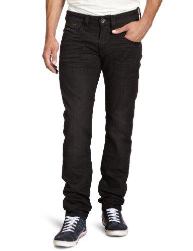 Energie Men's 9I7L00-Dl9852-L00R70/Raph Trousers 36 Straight Leg Jeans Black (L00R70) 32/36