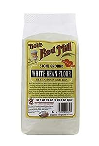 Amazon.com : Bob's Red Mill White Bean Flour - 24 oz