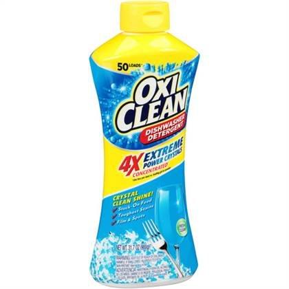 Oxiclean Extreme Power Crystals Dishwasher Detergent, Fresh Clean, 31.7 Oz.
