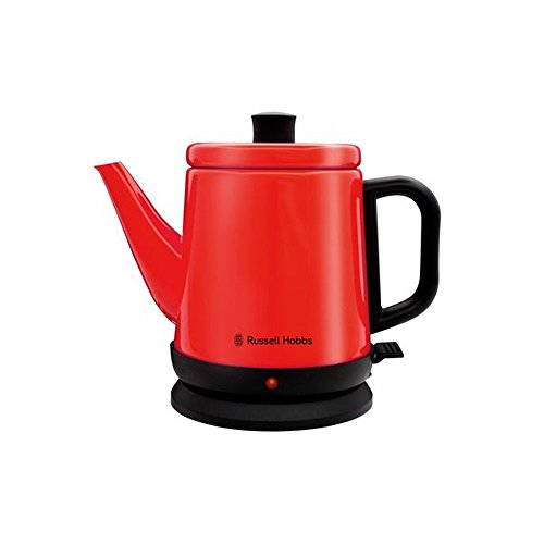 Russell Hobbs Colours Stainless Steel Electric kettle 0.8L RH-080KS (Red) (Glass Kettle Russell Hobbs compare prices)
