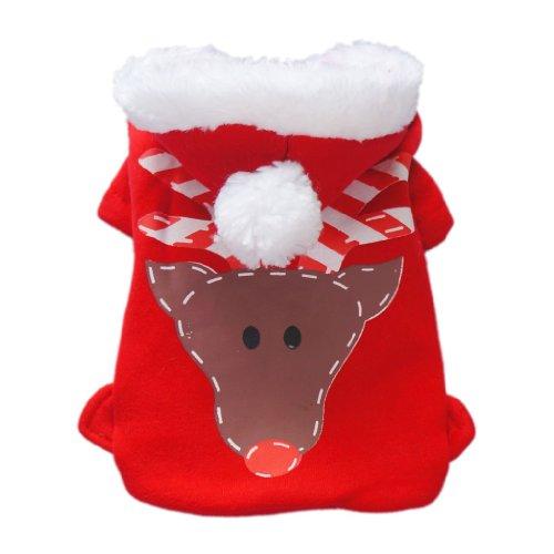 Adorable Xmas Dog Coat for Dog Jacket Dog Hoodie Cozy Warm Pet Coat Pet Clothes