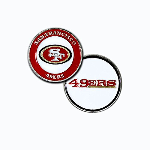 San Francisco 49ers Ball Marker Set