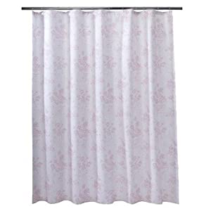 Amazon.com: Simply Shabby Chic Toile Shower Curtain - Pink: Home ...