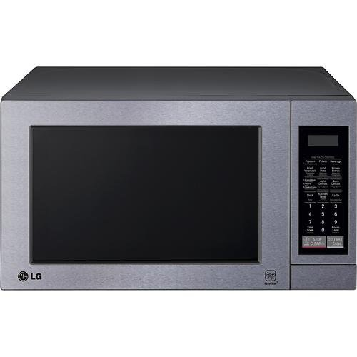 LG LCS0712ST - 0.7 Cu. Ft. Compact Microwave - Stainless-Steel (Small Microwave Oven Stainless compare prices)