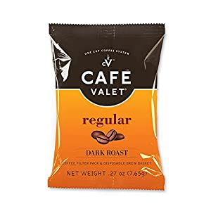 Cafe Valet Coffee for Cafe Valet Single Serve Brewers, Regular, 84 Count