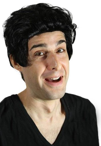 My Costume Wigs Men's Ricky Ricardo Wig (Black) One Size fits all