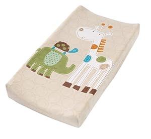 Summer Infant Infant Character Change Pad Cover, Safari Stack