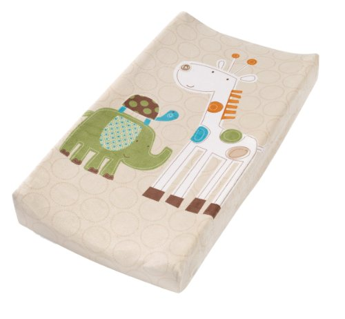 Summer Infant Infant Character Change Pad Cover, Safari Stack