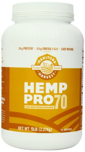 Manitoba Harvest Hemp Pro 70 Protein Supplement, 5 Pound
