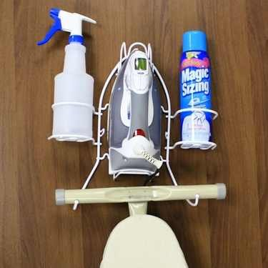 Mainstays Deluxe Iron and Ironing Board Holder (Ironing Board Mainstays compare prices)
