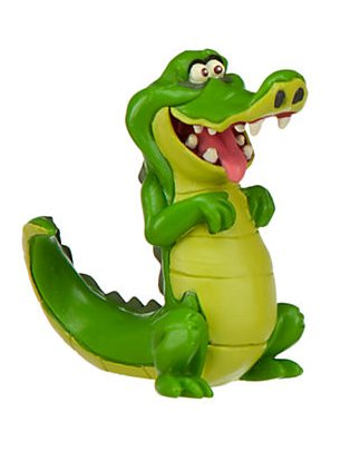 Disney Jr. Jake and the Neverland Pirates 3 inch Tick-Tock-Croc Action Figure PVC Figurine - 1